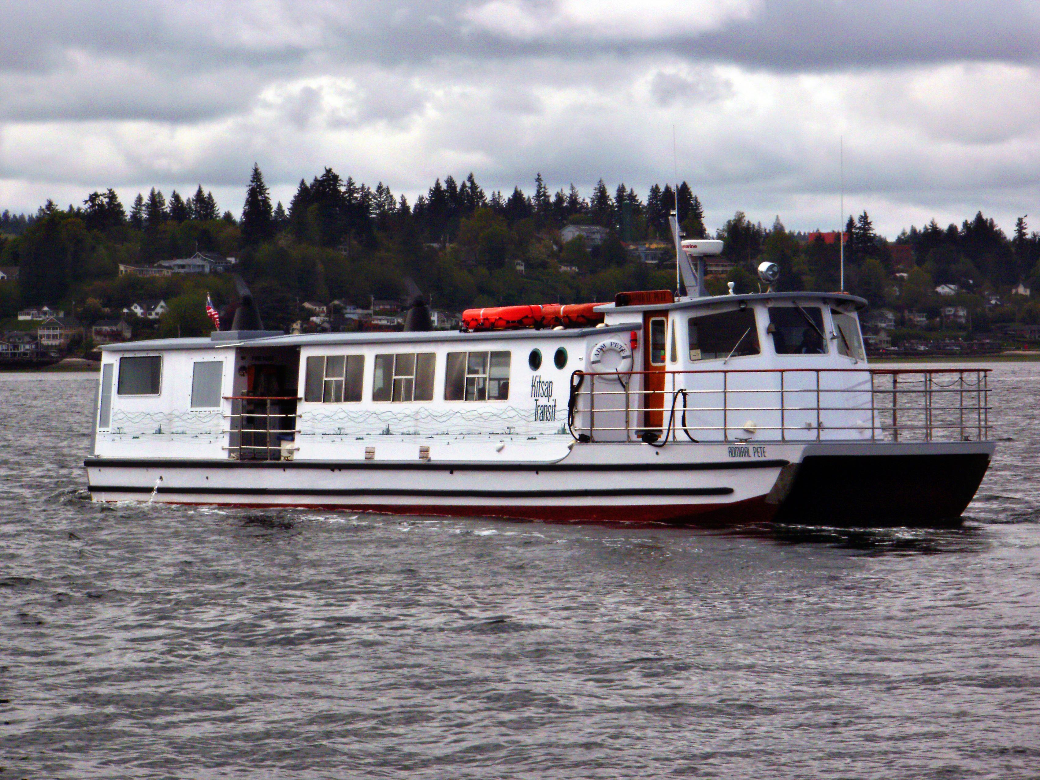 Kitsap Transit Admiral Pete Sister Ship